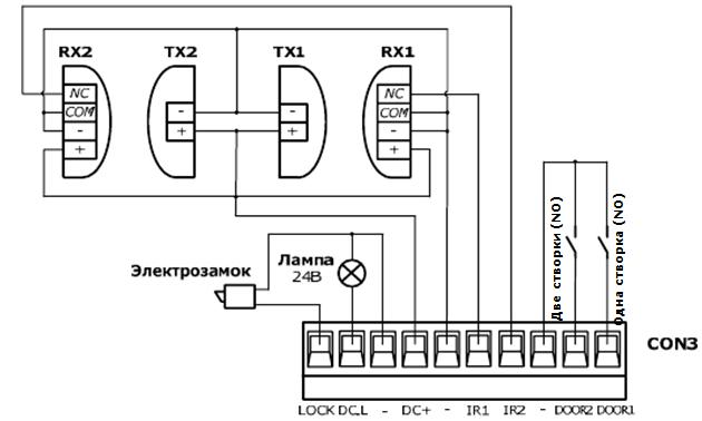 внешний радиоприемник an motors схема подключения